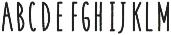 Coyote Bold-Rough otf (700) Font LOWERCASE