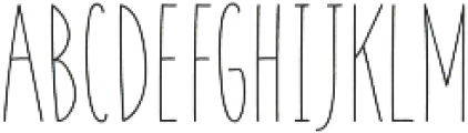 Coyote Rough otf (400) Font UPPERCASE