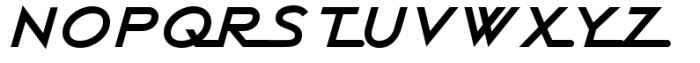 Continental Railway Font UPPERCASE