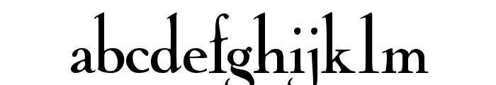 CochinArchaic Font LOWERCASE