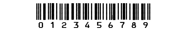 Code3X-DotImpact Font OTHER CHARS