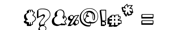 Comica BD Font OTHER CHARS