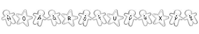 Cookie Font Font UPPERCASE