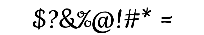 Cookie-Regular Font OTHER CHARS
