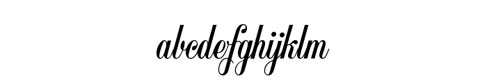 Copyist Thin Font LOWERCASE