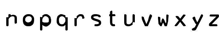 Corrupter Font LOWERCASE