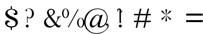 Cosmic Love Font OTHER CHARS
