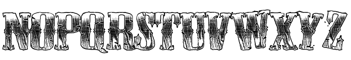 CowboyWould Font UPPERCASE