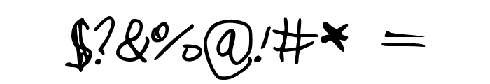 cookielove Font OTHER CHARS