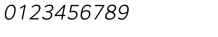 Core Sans A 35 Light Italic Font OTHER CHARS