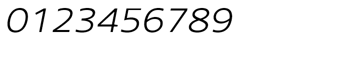 Core Sans N 33 ExtraLight Italic Font OTHER CHARS