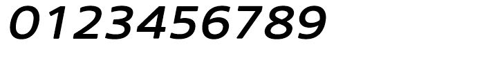 Core Sans N Rounded 53 ExtraMedium Italic Font OTHER CHARS
