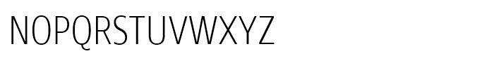 Core Sans N SC 27 Condensed ExtraLight Font LOWERCASE