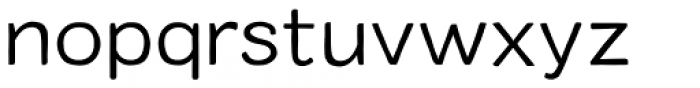 Colby Extended Light Font LOWERCASE