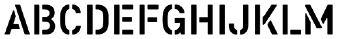 Colonel R Font UPPERCASE