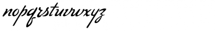 Compliments Regular Font LOWERCASE