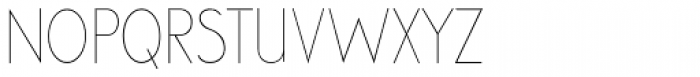 Cool Weekdays Thin Font UPPERCASE