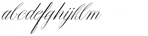 Copperlove Font LOWERCASE
