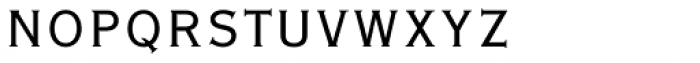 Copperplate Gothic Pro 29 BC Font LOWERCASE