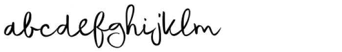 Coquillage Font LOWERCASE