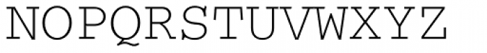 Courier Font UPPERCASE