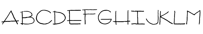 CPeas-Architect Font UPPERCASE