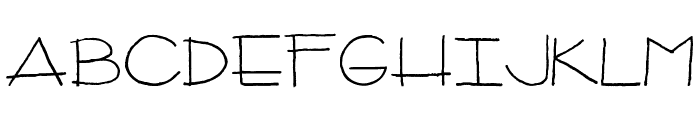 CPeas-Architect Font LOWERCASE