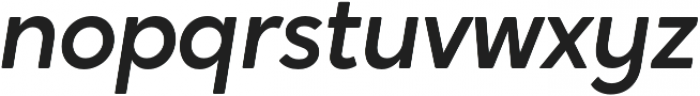 Crossten Medium Italic otf (500) Font LOWERCASE