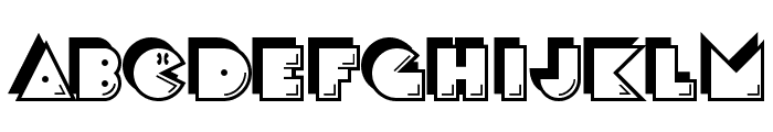 CrackMan-Regular Font UPPERCASE