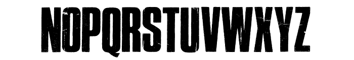 Cross Town Font LOWERCASE