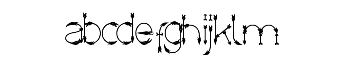 Crow Chief Font LOWERCASE