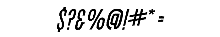 CryptCreep BB Italic Font OTHER CHARS
