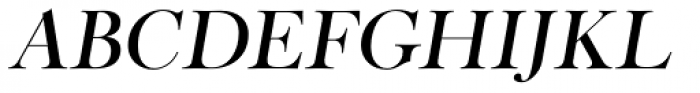 Cradley Title Italic Font LOWERCASE