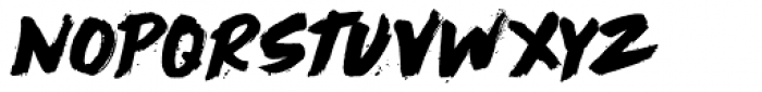 Cry Wolf Regular Font LOWERCASE