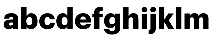 Graphik Bold Reduced Font LOWERCASE