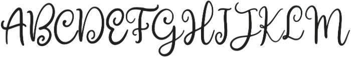 Curlys otf (400) Font UPPERCASE