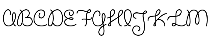 Cupcake Party Demo Font UPPERCASE