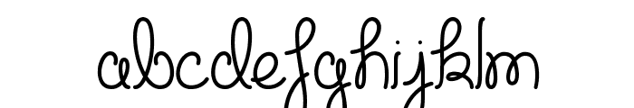 Cupcake Party Demo Font LOWERCASE