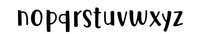 Cute Be Special Font LOWERCASE
