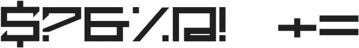 Cyber Grotesk Heavy otf (800) Font OTHER CHARS