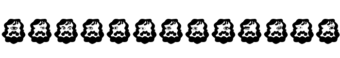 Cyclop Font LOWERCASE