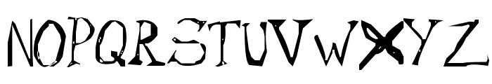 Cypher Font UPPERCASE