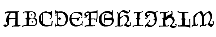 CzechGotika Font UPPERCASE
