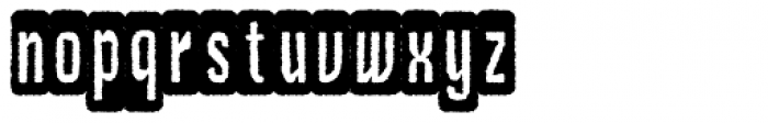 Czykago Rough Condensed BGdemo Font LOWERCASE