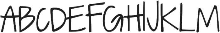 Dawning of a New Day ttf (400) Font UPPERCASE