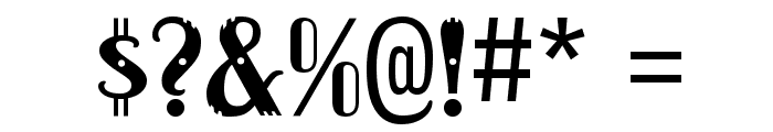 Dacquoise-Regular Font OTHER CHARS