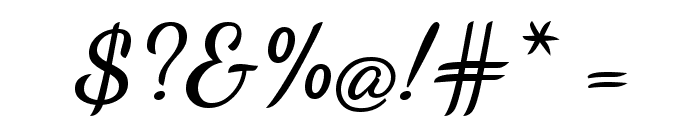 Dancing Script Bold Font OTHER CHARS