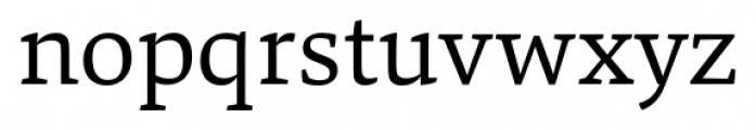 Danton Regular Font LOWERCASE