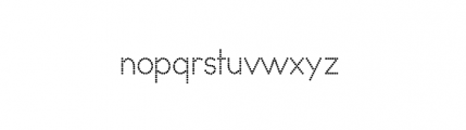 Dark Age Collection Dreamer Font LOWERCASE