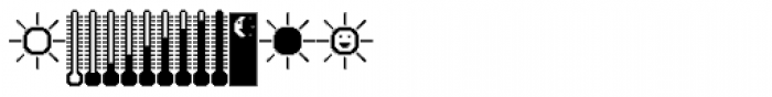 DBB Weather System Font UPPERCASE